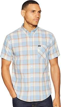 Brixton Men's Howl Standard Fit Short Sleeve Woven Shirt