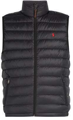 Polo Ralph Lauren - Quilted Down Gilet - Mens - Black