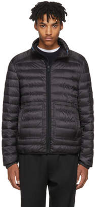 Prada Black Lightweight Down Hooded Puffer Jacket