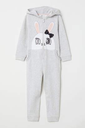 H&M Sweatshirt Jumpsuit - Gray