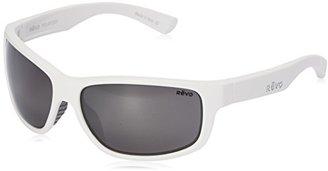 Revo Baseliner RE 1006 09 GY Polarized Wrap Sunglasses, White/Graphite, 61 mm $189 thestylecure.com