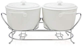 Godinger Silver Art Co La Cucina Double Warmer