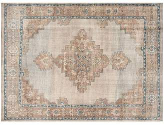 Pottery Barn Finn Hand-Knotted Rug - Blue Multi