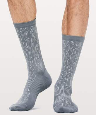 Lululemon Train To Conquer Crew Sock *Silver