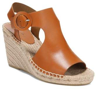 Via Spiga Women's Nolan Leather Espadrille Wedge Sandals