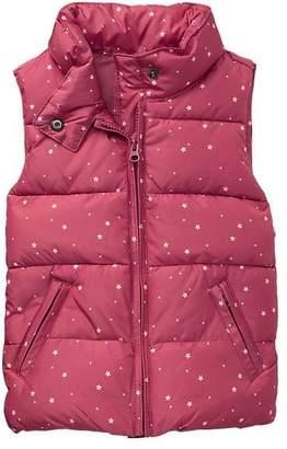 Gap Warmest starry puffer vest