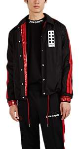 Palm Angels 8 MONCLER Men's Tangsi Striped Jacket - Black