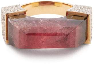 Jade Jagger Diamond, tourmaline & yellow-gold ring