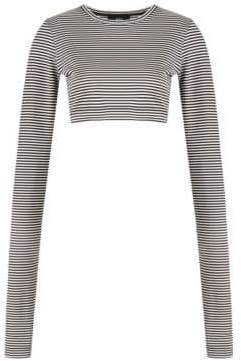 Marc Jacobs Redux Grunge Mini Stripe Crop Tee