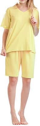La Cera Short Knit Pj - Plus