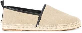 Loewe leather trim espadrilles