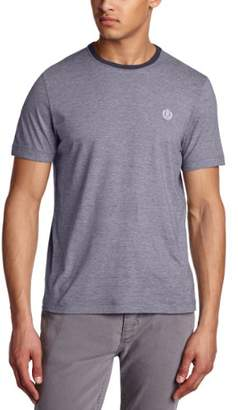 Henri Lloyd Men's Wallace Regular Striped Crew Neck Short Sleeve T-Shirt