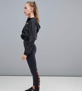 Reebok Training Exclusive To Asos Leggings With Contrast Logo In Black And Red