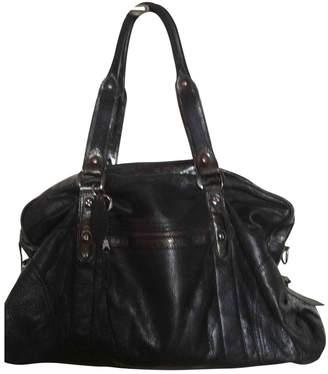 Karine Arabian Black Leather Handbag