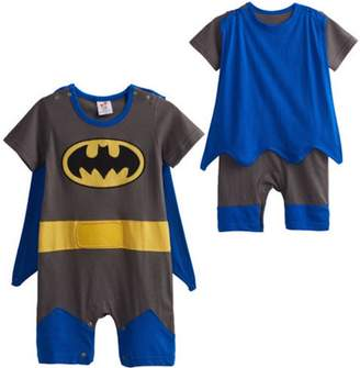 LC Boutique Baby Boy Superhero Romper Costume for Ages 3 Months to.