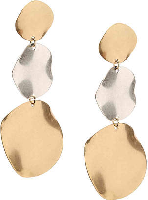 Crown Vintage Tier Disc Drop Earrings - Women's