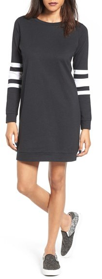 Women's Fire Sweatshirt Dress