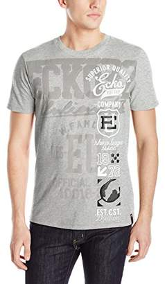 Ecko Unlimited Unltd. Men's Strong Side Short Sleeve Printed T-Shirt
