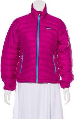 Patagonia Logo Puffer Jacket