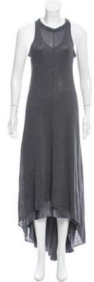 Brunello Cucinelli Embellished Linen Dress