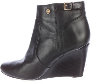 Tory BurchTory Burch Leather Wedge Ankle Boots