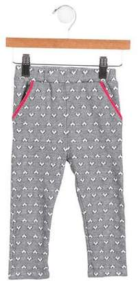 Ikks Girls' Patterned Knit Pants