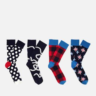 Happy Socks Men's Nautical Gift Box - Multi - UK 7.5-11.5
