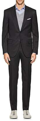 Isaia Men's Sanita Worsted Wool-Blend Two-Button Suit