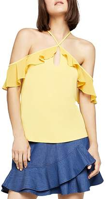 BCBGeneration Ruffled Off-the-Shoulder Top