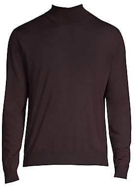 Corneliani Men's Wool Turtleneck Sweater
