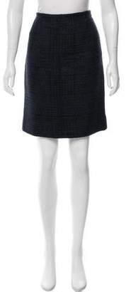 Nina Ricci Tweed Wool-Blend Skirt