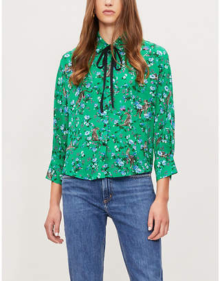 Claudie Pierlot Choupie silk shirt