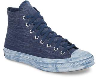 Converse Chuck Taylor(R) All Star(R) Overdyed Linen High Top Sneaker