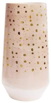 "Jay Import Pink Ceramic Planter/Vase - 4.8\""x8.6\"""