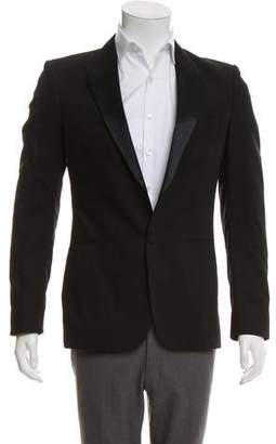 Maison Margiela Single Button Deconstructed Tuxedo Jacket