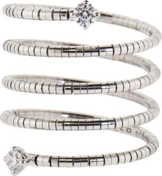 MATTIA CIELO Rugiada Diamond End Five Wrap Ring