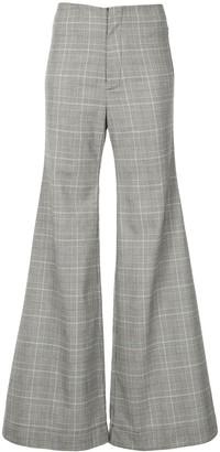 Georgia Alice Memory flared trousers