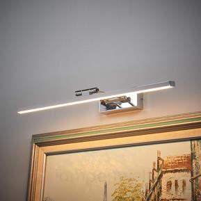 Verchromte LED-Bilderleuchte Elif