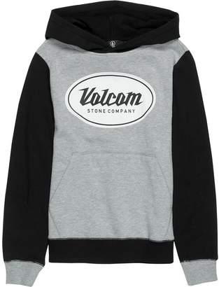 Volcom Patch Stone Pullover Hoodie - Boys'