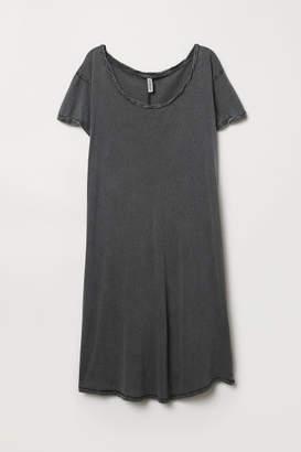 H&M Short T-shirt Dress - Black