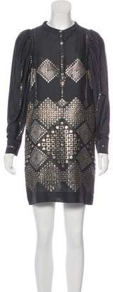 Stella McCartney Metallic Printed Dress