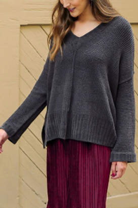 Umgee USA Chenille Knit Pullover