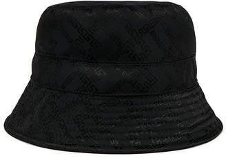 Versace Bucket Hat in Black   FWRD