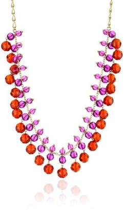 Kate Spade On The Ave Ruby-Color Multi Color Long Necklace