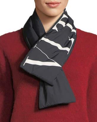 Valentino VLTN Wool-Cashmere Scarf