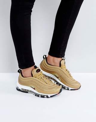 Nike 97 Gold Sneakers