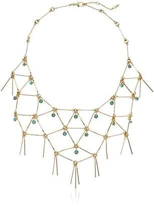 Fossil Southwestern Fringe Necklace