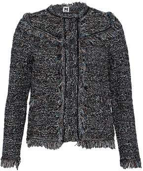 M Missoni Fringed Metallic Cotton-Blend Bouclé Jacket