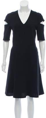 Derek Lam Cutout Flared Dress