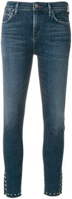 Citizens of Humanity slim fit notched leg jeans